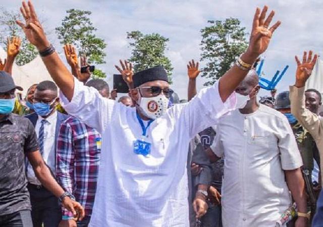 Ondo Elections 2020: Akeredolu Celebrates Win Ahead Of Declaration