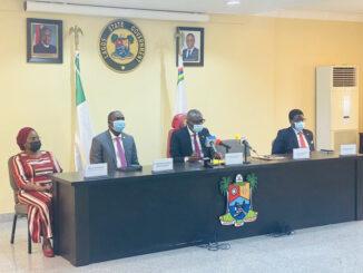 #ENDSARS: Governor Sanwo-Olu Inaugurates Segalinks and 7-Man Judicial Panel to Investigate SARS Brutality [Photos]