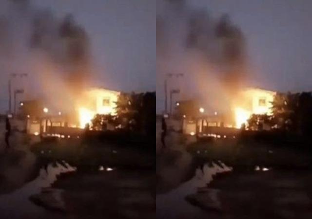 Akwa Ibom Broadcasting Corporation (AKBC) On Fire [Video]