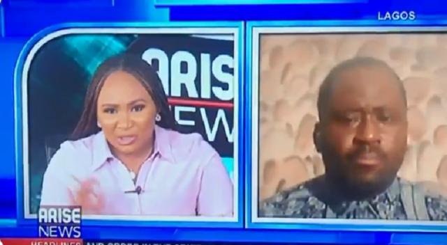 Video of Desmond Elliot Weeping on Live TV Following Backlash