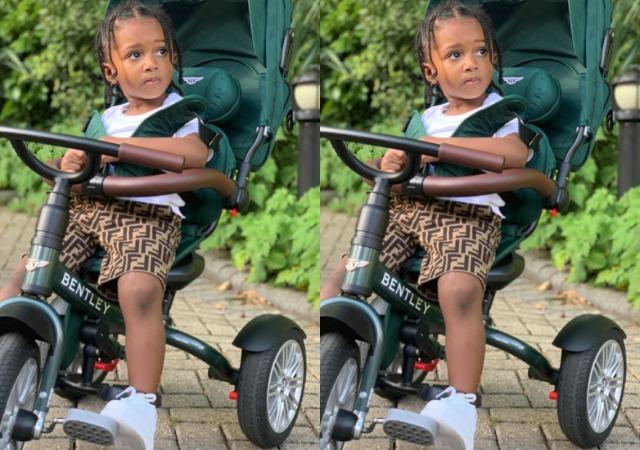 Wizkid's Baby Mama, Jada Pollock, Celebrates Their Son, Zion, On His 3rd Birthday