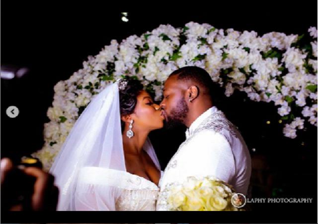 BBNaija Couple, Bam Bam and Teddy A Celebrates 1st Wedding Anniversary