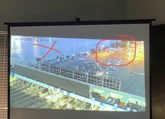 #EndSARS: CCTV reveals soldiers arrived in seven trucks