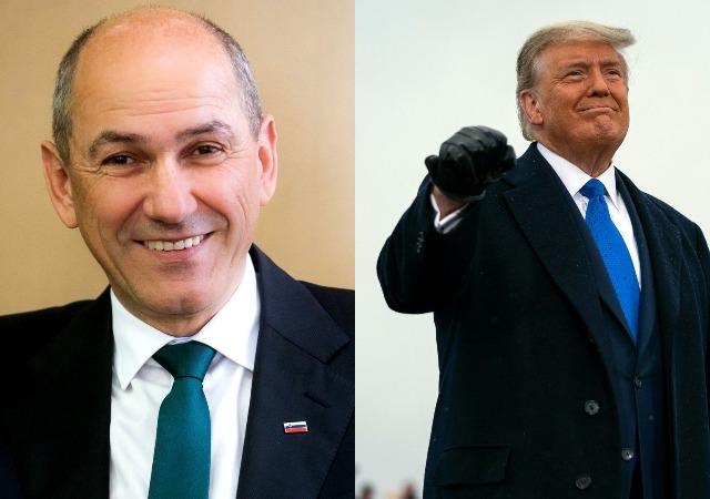 US Election: Slovenia's Prime Minister, Janez Janša congratulates Trump amid Vote Counting
