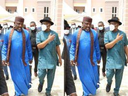 Defection Looming As Okorocha Visits Wike Again